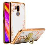 Чехол Yotrix CrystalCase для LG G7 ThinQ (золотистый, гелевый)