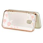Чехол Yotrix CrystalCase для Samsung Galaxy J4 (золотистый, гелевый)