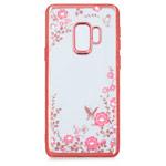 Чехол Yotrix CrystalCase для Samsung Galaxy S9 plus (розово-золотистый, гелевый)