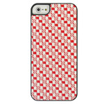 Чехол Discovery Buy Summer Sleeping Mat Case для Apple iPhone 5 (красный, тканевый)