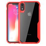 Чехол Yotrix Shield для Apple iPhone XR (красный, гелевый)