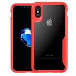 Чехол Yotrix Shield для Apple iPhone XS (красный, гелевый)