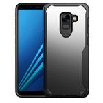 Чехол Yotrix Shield для Samsung Galaxy A8 2018 (черный, гелевый)