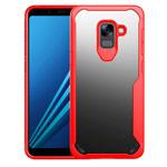 Чехол Yotrix Shield для Samsung Galaxy A8 plus 2018 (красный, гелевый)