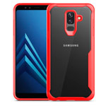 Чехол Yotrix Shield для Samsung Galaxy A6 plus 2018 (красный, гелевый)