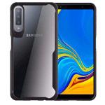 Чехол Yotrix Shield для Samsung Galaxy A7 2018 (черный, гелевый)