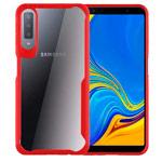 Чехол Yotrix Shield для Samsung Galaxy A7 2018 (красный, гелевый)