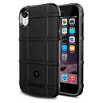Чехол Yotrix RuggedShield для Apple iPhone XR (черный, гелевый)