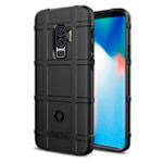 Чехол Yotrix RuggedShield для Samsung Galaxy S9 plus (черный, гелевый)