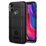 Чехол Yotrix RuggedShield для Xiaomi Mi 8 (черный, гелевый)