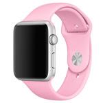 Ремешок для часов Synapse Sport Band для Apple Watch (38 мм, ярко-розовый, силиконовый)