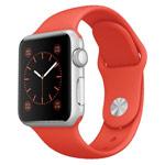 Ремешок для часов Synapse Sport Band для Apple Watch (38 мм, светло-оранжевый, силиконовый)