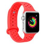 Ремешок для часов Synapse Sport Dotted Band для Apple Watch (38 мм, красный, силиконовый)