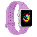 Ремешок для часов Synapse Sport Dotted Band для Apple Watch (38 мм, сиреневый, силиконовый)