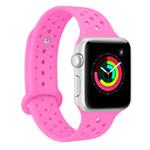 Ремешок для часов Synapse Sport Dotted Band для Apple Watch (38 мм, малиновый, силиконовый)