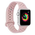 Ремешок для часов Synapse Sport Dotted Band для Apple Watch (38 мм, светло-розовый, силиконовый)