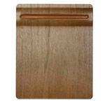 Коврик для мыши Samdi Walnut Mouse Pad универсальный (коричневый, деревянный)
