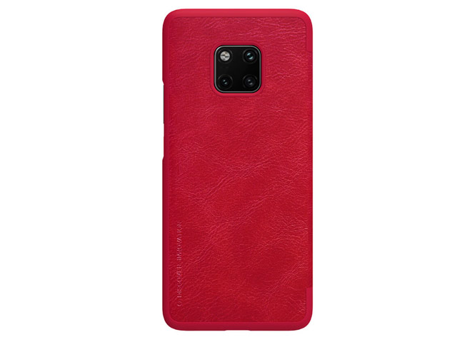 Чехол Nillkin Qin leather case для Huawei Mate 20 pro (красный, кожаный)