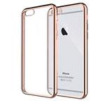 Чехол Yotrix GlitterSoft для Apple iPhone 6/6S (золотистый, гелевый)