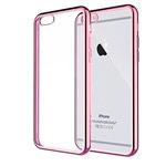 Чехол Yotrix GlitterSoft для Apple iPhone 6/6S (розово-золотистый, гелевый)