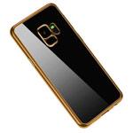 Чехол Yotrix GlitterSoft для Samsung Galaxy S9 (золотистый, гелевый)