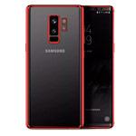 Чехол Yotrix GlitterSoft для Samsung Galaxy S9 plus (красный, гелевый)