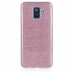 Чехол Yotrix BrightCase для Samsung Galaxy A8 2018 (розовый, гелевый)