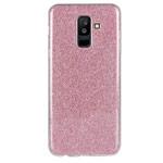 Чехол Yotrix BrightCase для Samsung Galaxy A6 plus 2018 (розовый, гелевый)