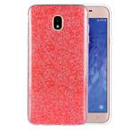Чехол Yotrix BrightCase для Samsung Galaxy J4 (красный, гелевый)