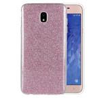 Чехол Yotrix BrightCase для Samsung Galaxy J4 (розовый, гелевый)
