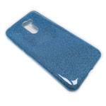 Чехол Yotrix BrightCase для Xiaomi Pocophone F1 (голубой, гелевый)