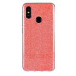Чехол Yotrix BrightCase для Xiaomi Mi 8 (красный, гелевый)