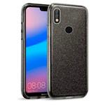 Чехол Yotrix BrightCase для Huawei P20 lite (черный, гелевый)