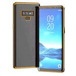 Чехол Yotrix GlitterSoft для Samsung Galaxy Note 9 (золотистый, гелевый)