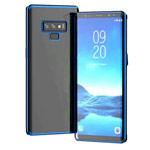 Чехол Yotrix GlitterSoft для Samsung Galaxy Note 9 (синий, гелевый)