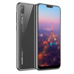 Чехол Yotrix GlitterSoft для Huawei P20 pro (серебристый, гелевый)