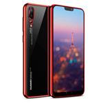 Чехол Yotrix GlitterSoft для Huawei P20 pro (красный, гелевый)