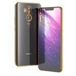Чехол Yotrix GlitterSoft для Huawei Mate 20 lite (золотистый, гелевый)
