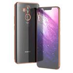 Чехол Yotrix GlitterSoft для Huawei Mate 20 lite (розово-золотистый, гелевый)