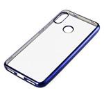 Чехол Yotrix GlitterSoft для Xiaomi Mi A2 (синий, гелевый)