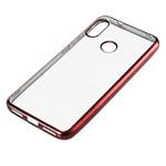 Чехол Yotrix GlitterSoft для Xiaomi Mi A2 (красный, гелевый)