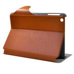 Чехол Discovery Buy Fence Style Case для Apple iPad mini (коричневый, кожанный)
