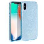 Чехол Yotrix BrightCase для Apple iPhone XS (голубой, гелевый)