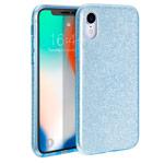 Чехол Yotrix BrightCase для Apple iPhone XR (голубой, гелевый)