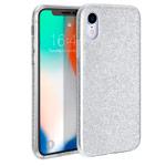 Чехол Yotrix BrightCase для Apple iPhone XR (серебристый, гелевый)