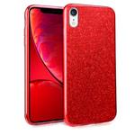 Чехол Yotrix BrightCase для Apple iPhone XR (красный, гелевый)
