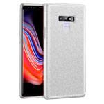 Чехол Yotrix BrightCase для Samsung Galaxy Note 9 (серебристый, гелевый)