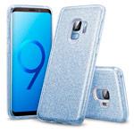 Чехол Yotrix BrightCase для Samsung Galaxy S9 (голубой, гелевый)