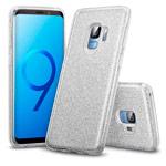 Чехол Yotrix BrightCase для Samsung Galaxy S9 (серебристый, гелевый)