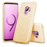 Чехол Yotrix BrightCase для Samsung Galaxy S9 (золотистый, гелевый)